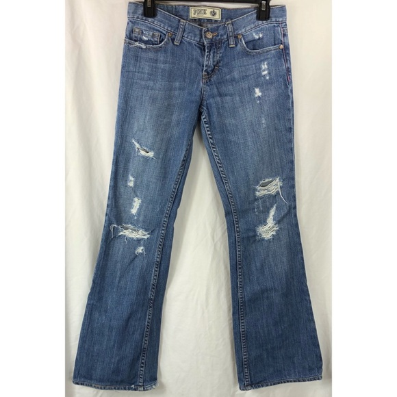 PINK Victoria's Secret Denim - Victoria's Secret Pink distress bootcut jeans 5686